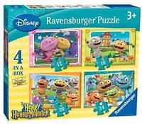 Пазлы Disney Ravensburger Ruzzle 4in Henry Hugglemonster