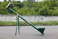 Шнековый транспортер (погрузчик) ТГ100 (диаметр трубы 102мм)