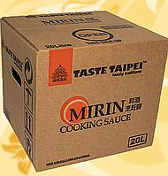Мирин, кулінарне вино, для приготування, Клас А Taste Taipei, 20л, Ч