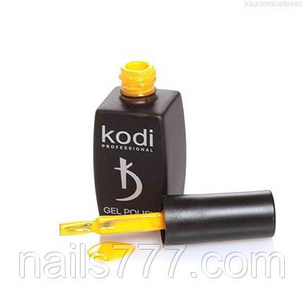 Гель лак Kodi  №10GY,  кукурузно-желтый, фото 2