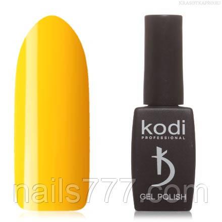 Гель лак Kodi  №10GY,  кукурузно-желтый
