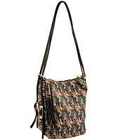 Сумка - трансформер. Молодежный городской рюкзак. 2 шт длинных не съемных - 90 см регулируемых, Городской, структура кожи теленка, Малиновый, золотой светлый