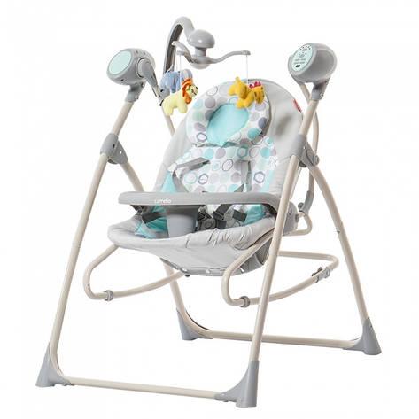 Кресло-качалка CARRELLO Nanny CRL-0005 Green Ring, фото 2