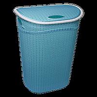 Корзина для белья GORDES 52 л синий