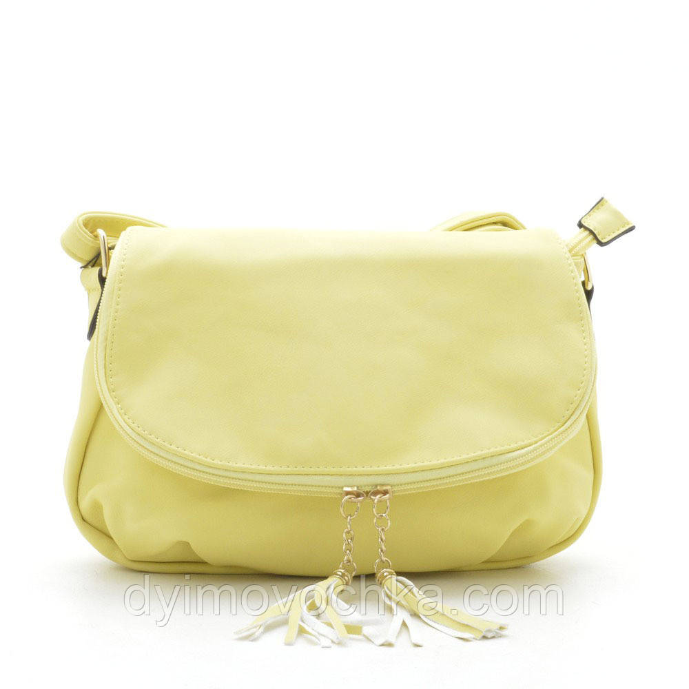 28472d000345 Клатч L. Pigeon K-006 yellow (желтый), кожзам, цена 349 грн., купить ...