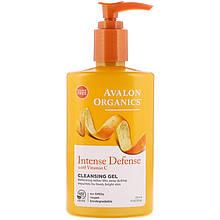 """Очищающий гель Avalon Organics """"Intense Defense with Vitamin C"""" с витамином С (251 мл)"""