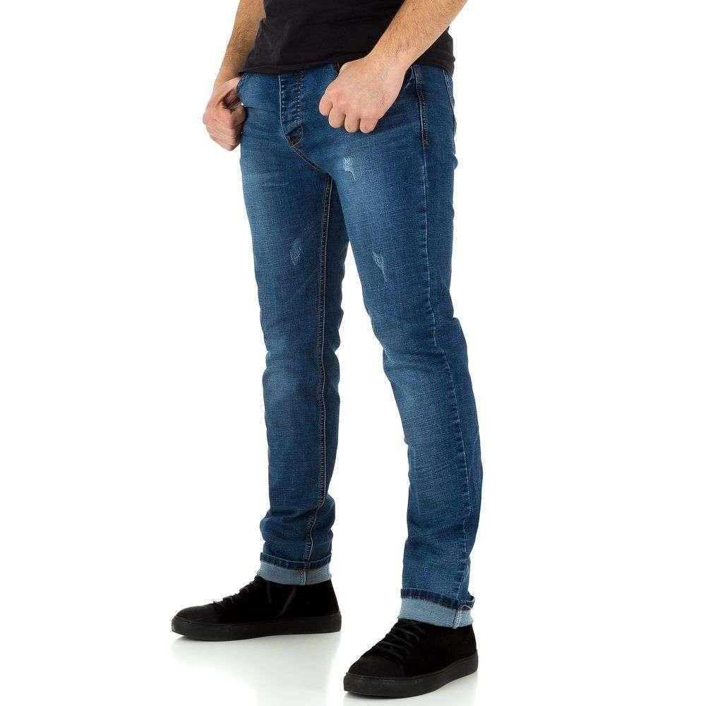 Мужские джинсы от Edo Jeans - синий - KL-H-ED009-синий