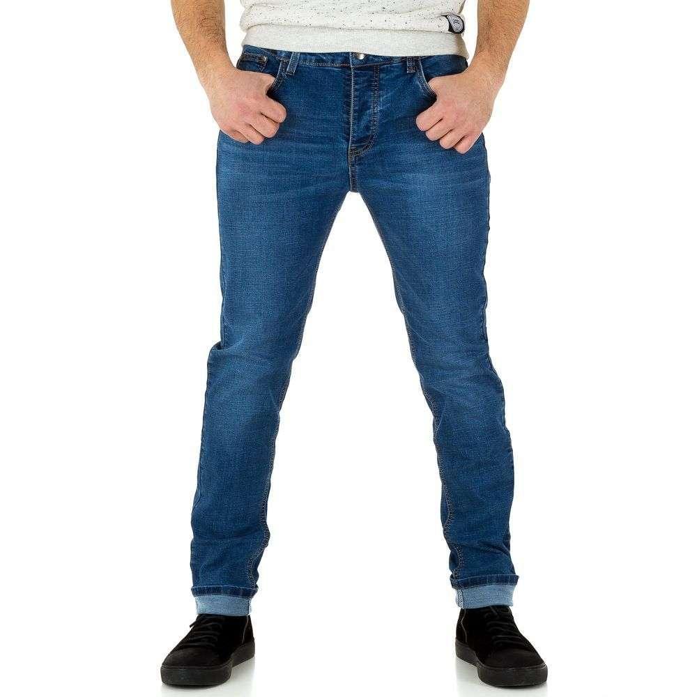 Мужские джинсы от Edo Jeans - синий - KL-H-ED029-синий