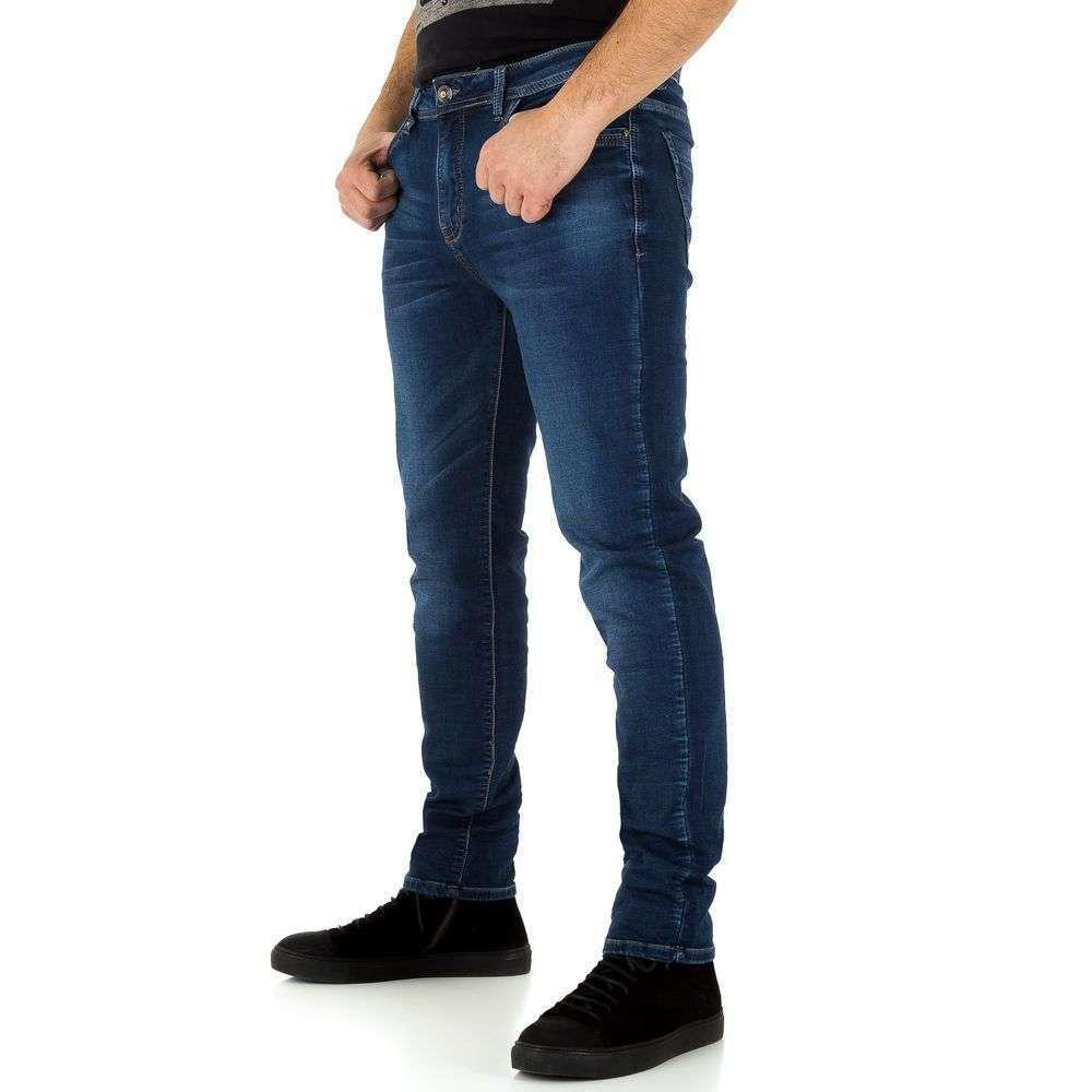 Мужские джинсы от Edo Jeans - синий - KL-H-ED067-синий