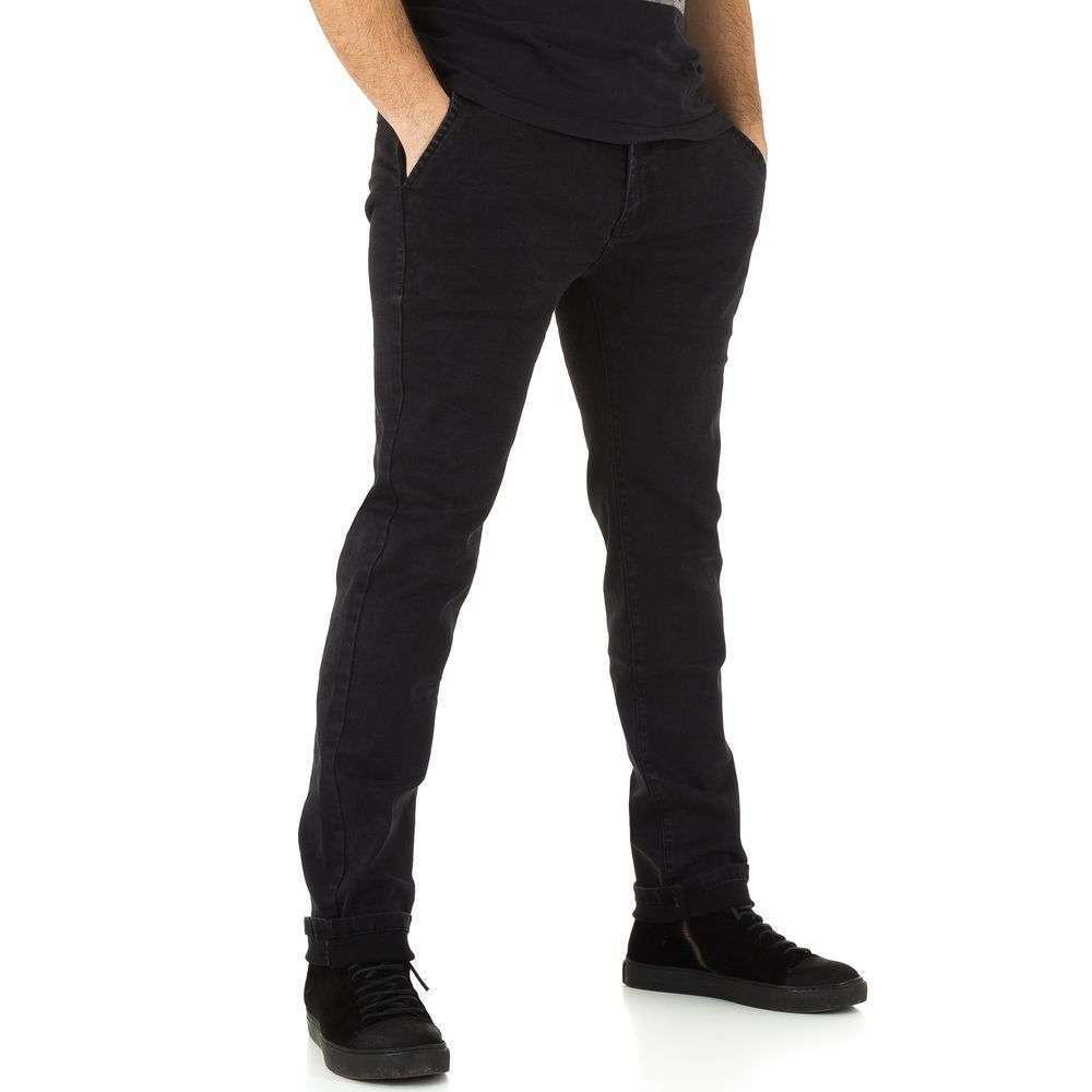 Мужские джинсы от TF Boys Denim black - KL-H-K028-black