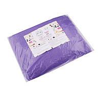 Чехол на кушетку на резинке, 0,8*2,1 м, фиолетовый, фото 1