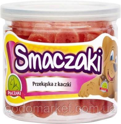Закуска из утки лакомство для собак Smaczaki 70 гр