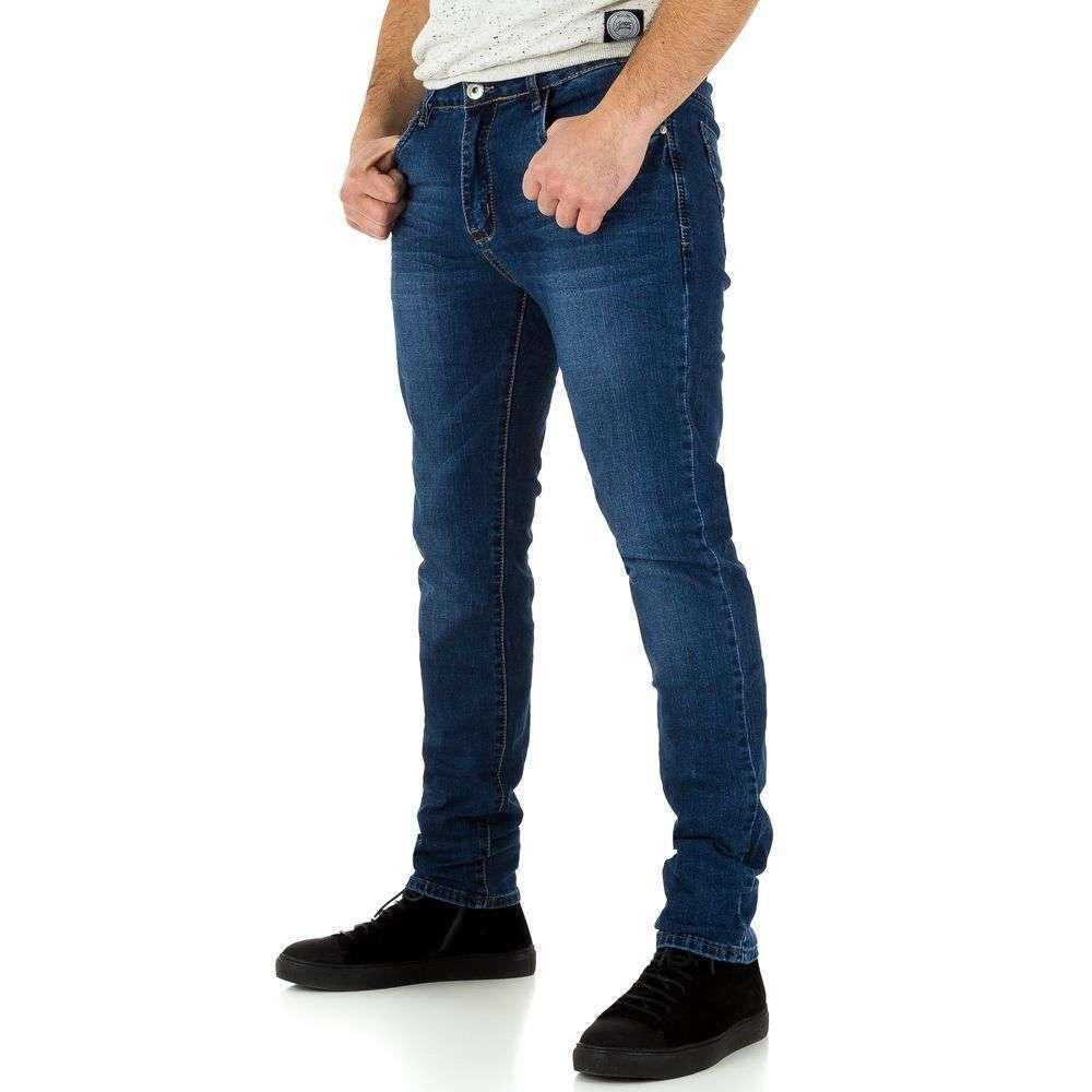 Мужские джинсы от TF Boys Denim blue - KL-H-D72-синий