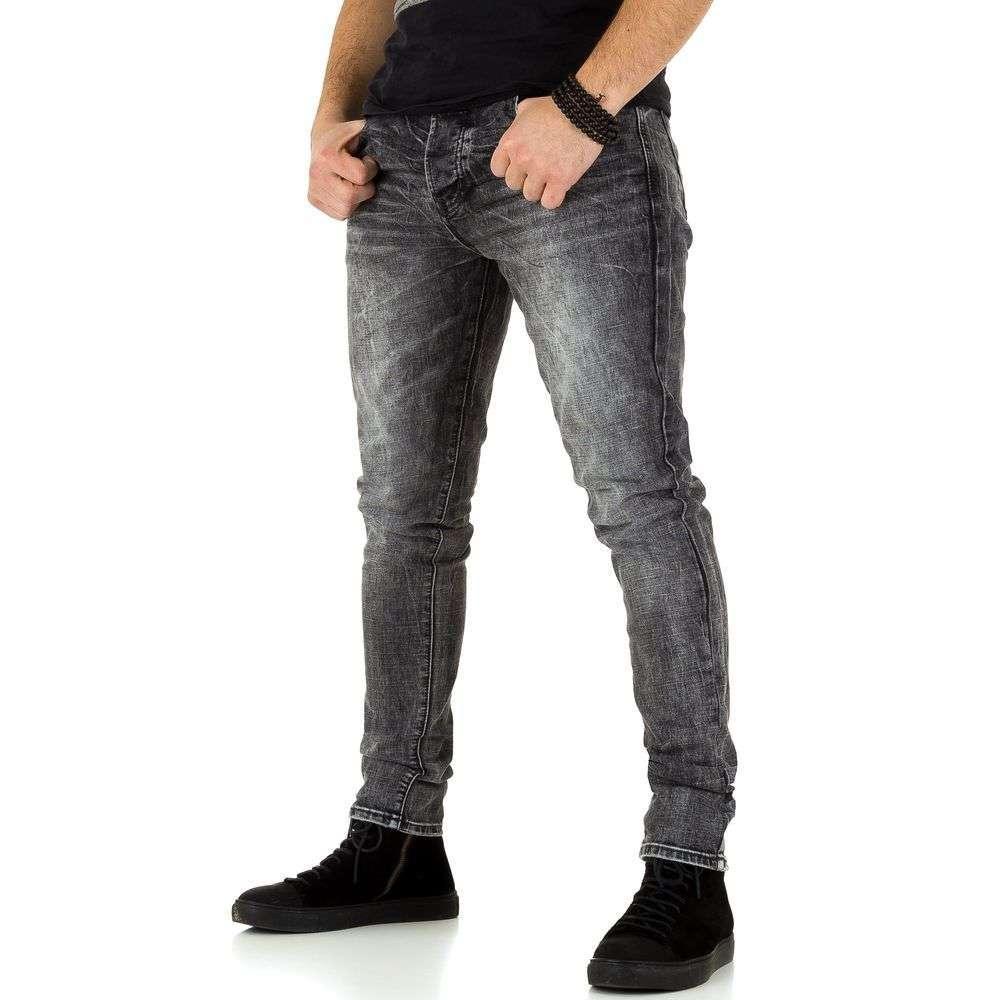 Мужские джинсы от TF Boys Denim grey - KL-H-K537-серый