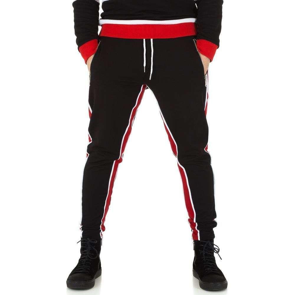 Мужские брюки от Uniplay - blackred - KL-H-2532-blackred