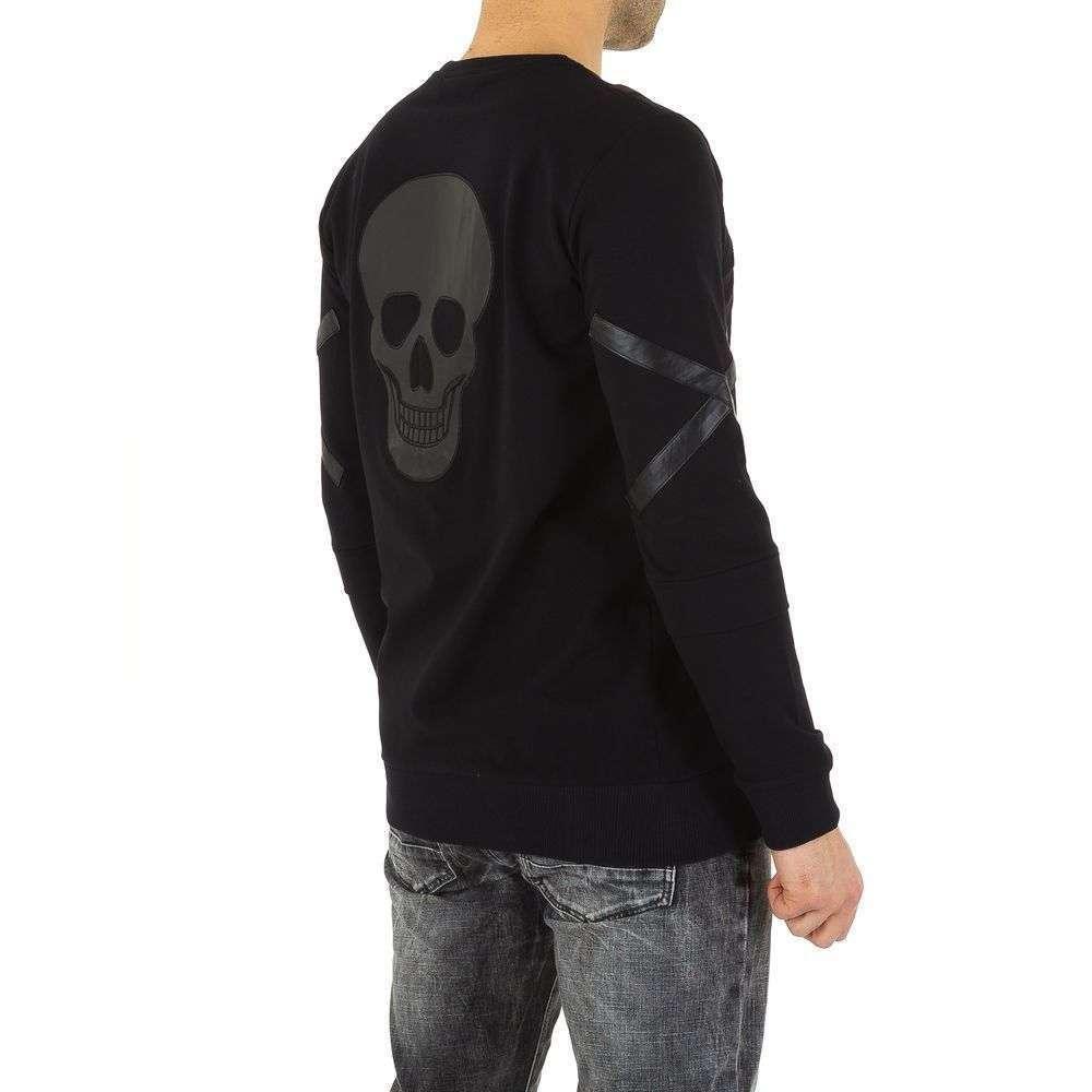 Мужская толстовка с Visionist Couture - черный - KL-H-VSSA3-black