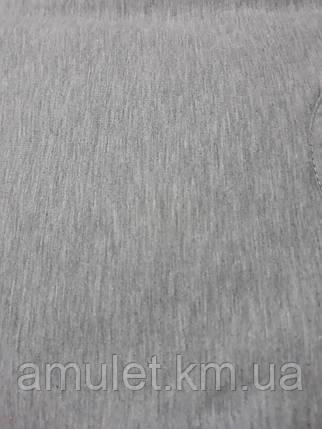 Майка чоловіча сіра 100% бавовна, фото 2