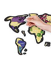 Скретч Карта Мира Travel Map  MAGNETIC World, фото 3