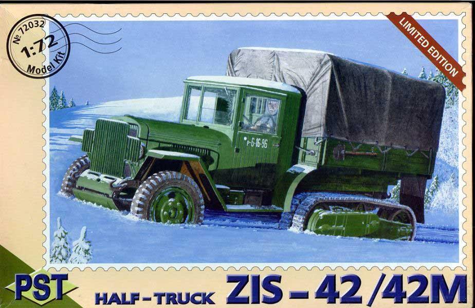 ЗиС-42/42М. 1/72 PST 72032