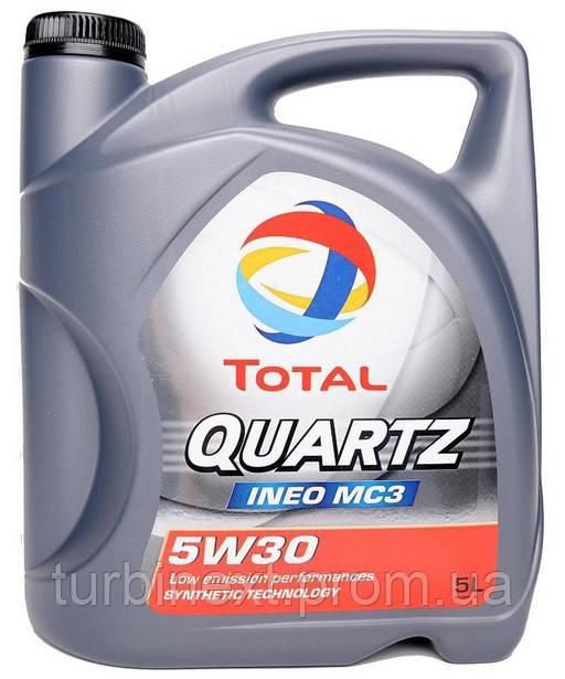 Масло 5W30 TOTAL 157103 Quartz INEO MC3 Dexos2 (5L)