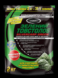 """Прикормка MEGAMIX(Мегамикс) """"Зеленый Толстолоб"""" 2 кг"""