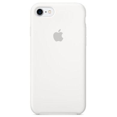 Чехол Apple iPhone 7/8 Silicone Case - White