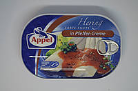 Филе сельди Appel Herring Filets In Pfeffer Creme 200 г, фото 1