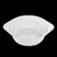Миска стеклоподобная прозрачная 0,5л 10шт (1ящ/40уп)