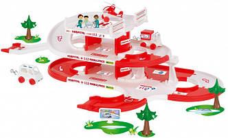 Детский игровой набор Скорая помощь Kid Cars 3D
