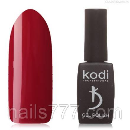 Гель лак Kodi  №20WN, цвета спелой вишни