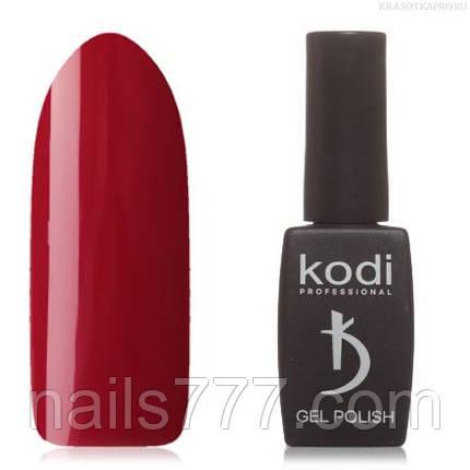 Гель лак Kodi  №20WN, цвета спелой вишни, фото 2