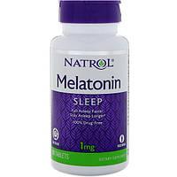 Мелатонин (медленное высвобождение) 1 мг 90 таб с витамином В6 Natrol USA