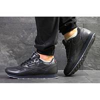 Мужские кроссовки Reebok Classic Leather темно-синие р.41 Акция -45%! d0edc79d41fb1