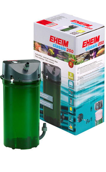 Внешний фильтр EHEIM Classic-2213 Plus для аквариумов до 250 л.