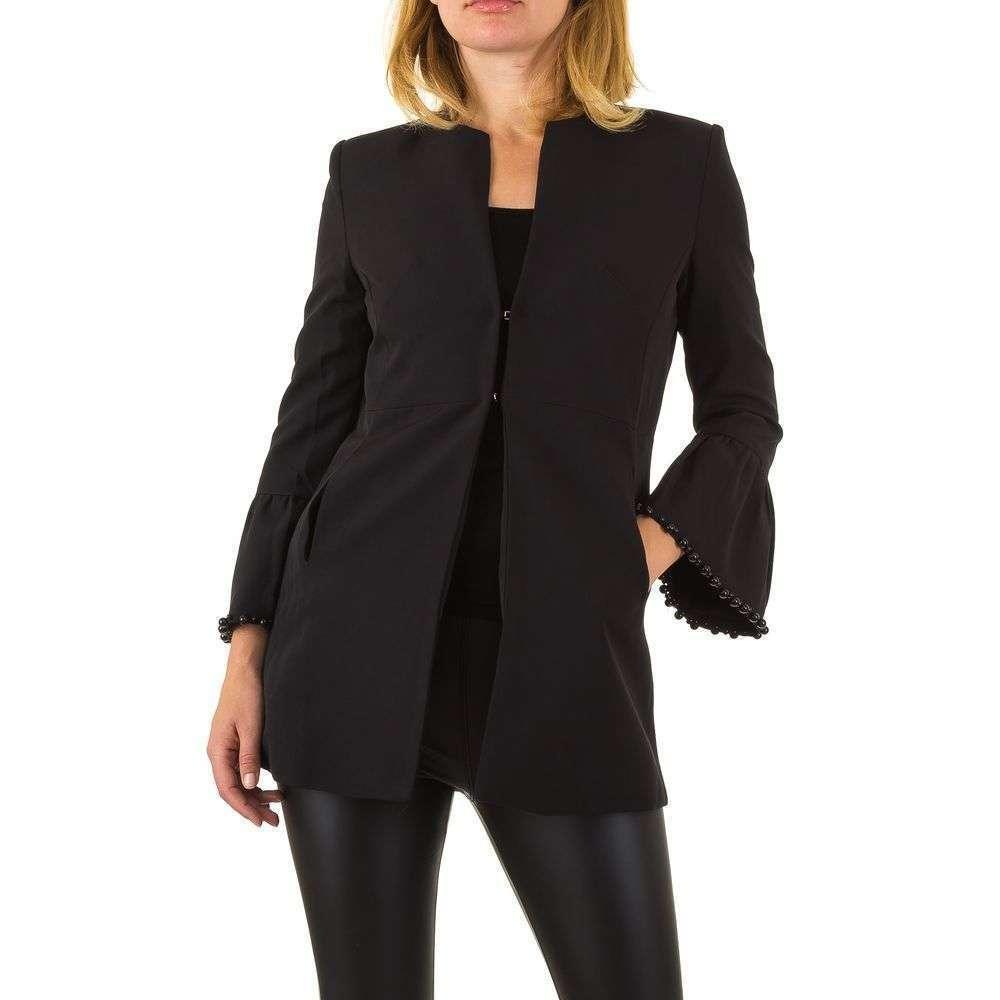 Пиджак женский с расклешенными рукавами Noemi Kent (Франция), Черный