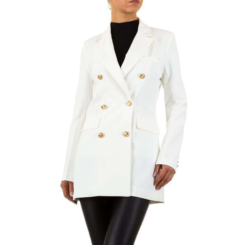 Пиджак женский двубортный удлиненный Emma&Ashley (Европа), Белый