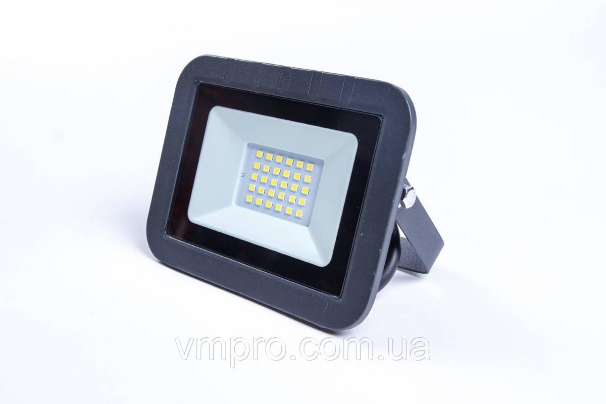 Прожектор Luxel LED ECO 20W 6500K, (LPE-20C 20W)