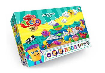 """Тесто для лепки """"Морской мир"""" ТМ Danko-Toys Украина 01082"""
