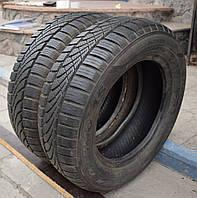 Всесезонные шины б/у 175/65 R13 Hankook Optimo, 7-8 мм, пара