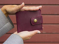 """Шкіряний жіночий гаманець """"Jelly"""", ручної роботи, натуральна шкіра, жіночий гаманець, фото 1"""