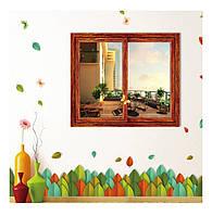 Декоративная виниловая наклейка на стену, мебель для дома и кафе, детского сада  (6284902)