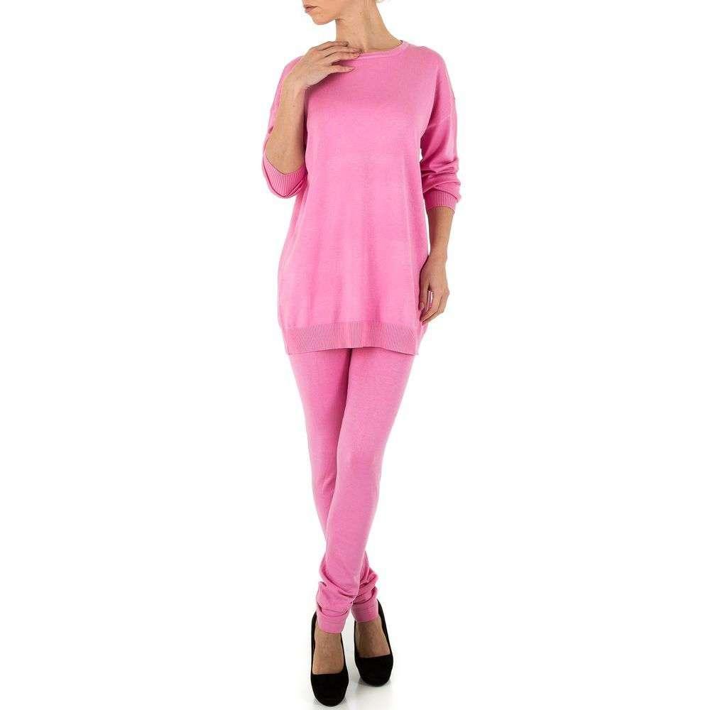Женский костюм от Emma&Ashley - розовый - KL-PU103-розовый