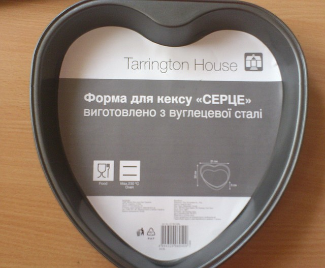 "Форма тефлоновая ""Сердце""(код 01033)"