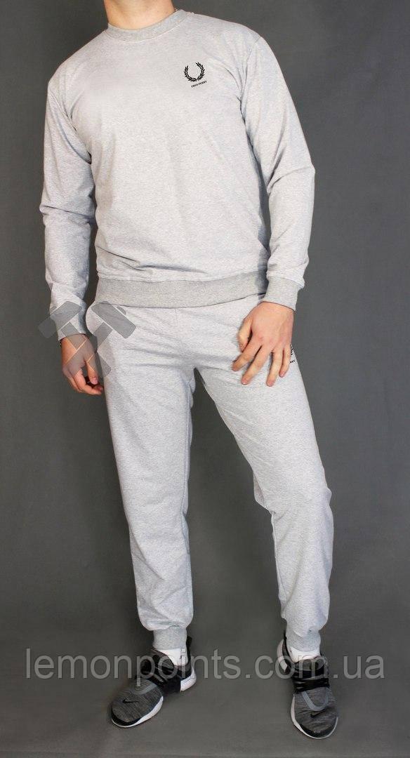 2bc836a4c207 Мужской спортивный костюм, чоловічий костюм Fred Perry (серый), Реплика -  Интернет-