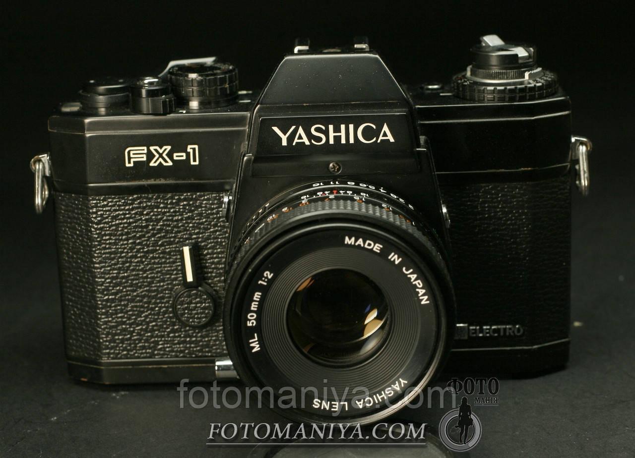 Yashica FX-1 Yashica ML 50mm f2.0