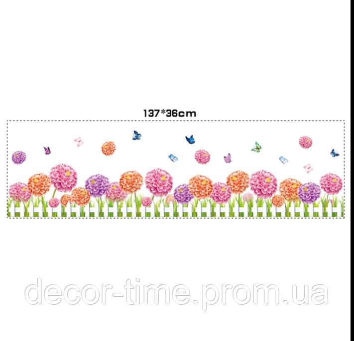 Вінілова наклейка на стіну, меблі для дому, кафе, дитячого садка (754335)
