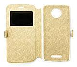 Чохол-Книжка DENGOS (flipp-BOOK Call ID) Motorola Мото С (xt1750) (black), фото 3