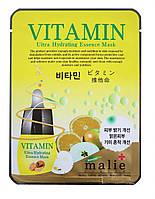 Маска тканевая для лица Malie System Vitamin, фото 1