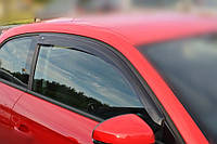 "Дефлекторы окон (ветровики) Audi A3 Hb (8V) 2013""EuroStandard"" (Ауди А3) Cobra Tuning"