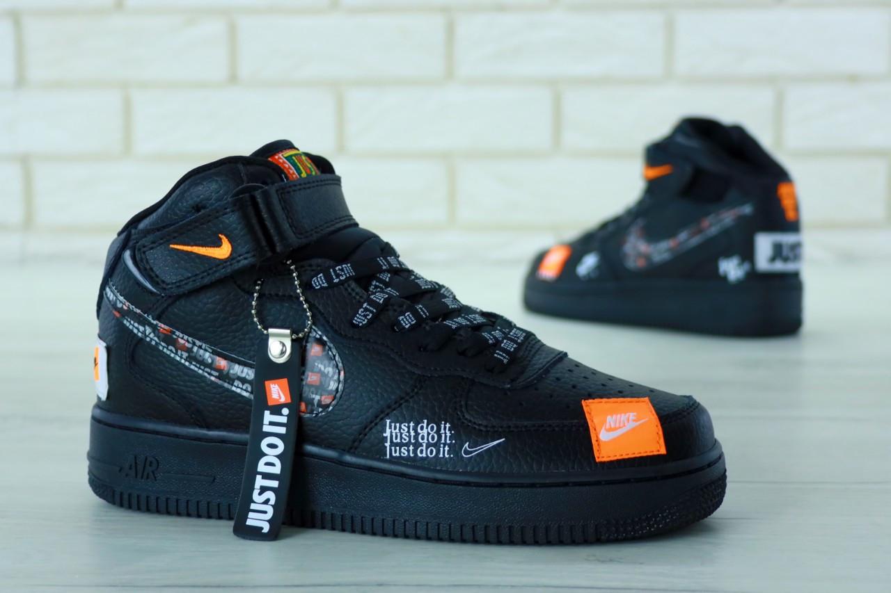 aae68c39 Мужские демисезонные кроссовки в стиле Nike Air Force 1 Mid / высокие (40,  41, 42, 43, 44, 45 размеры)